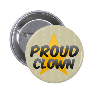 Proud Clown 2 Inch Round Button