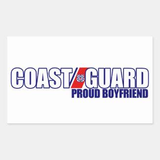 Proud Coast Guard Boyfriend Sticker