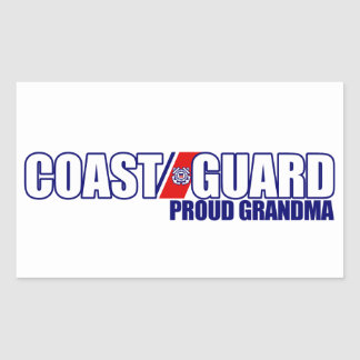 Proud Coast Guard Grandma Sticker