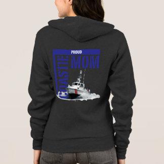 Proud Coastie Mom / Boat Hoodie
