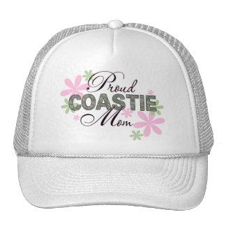 Proud Coastie Mom Camo Trucker Hats