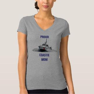 Proud Coastie Mom V2 / Boat T-Shirt