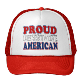 Proud Conservative American Hat
