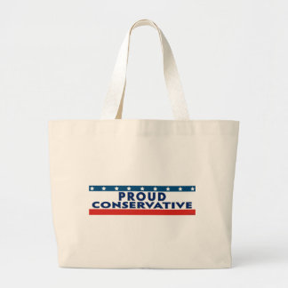 Proud Conservative Tote Bags