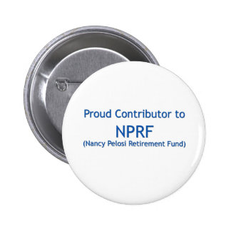 Proud contributor to NPRF 2 Inch Round Button