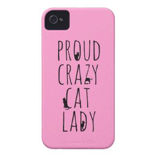 Proud Crazy Cat Lady iPhone4 Case