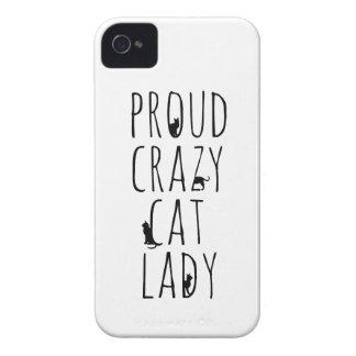 Proud Crazy Cat Lady iPhone 4 Case-Mate Case
