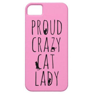 Proud Crazy Cat Lady iPhone 5/5S Case