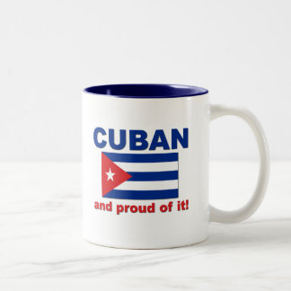 Proud Cuban Two-Tone Coffee Mug