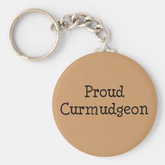 Proud Curmudgeon Keychain