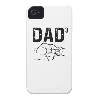 Proud Dad Of Three Daughters Or Sons Mens T-Shirt iPhone 4 Case-Mate Case