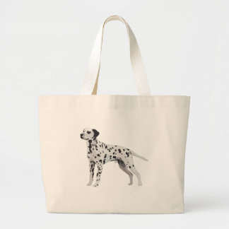 Proud Dalmatian Large Tote Bag