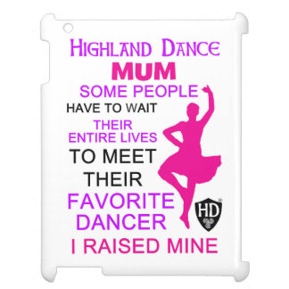 Proud Dance Mum Case For The iPad 2 3 4