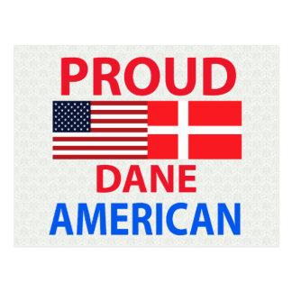 Proud Dane American Postcard