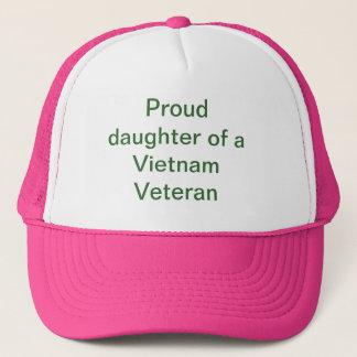 Proud daughter trucker hat