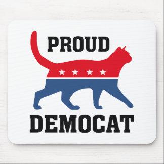 Proud Democat Mouse Pad
