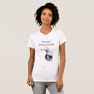Proud Democrat Donkey Political Shirt