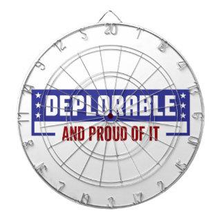 Proud Deplorable Dartboard