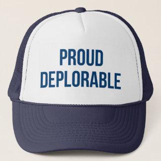 Proud Deplorable - Donald Trump - Republican Trucker Hat