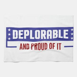 Proud Deplorable Kitchen Towel