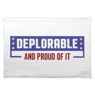 Proud Deplorable Placemat