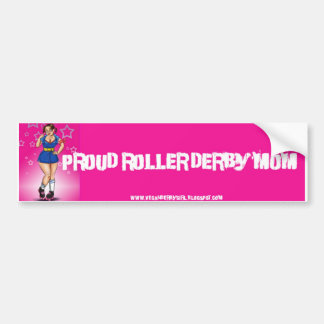 Proud Derby Mom Bumper Sticker