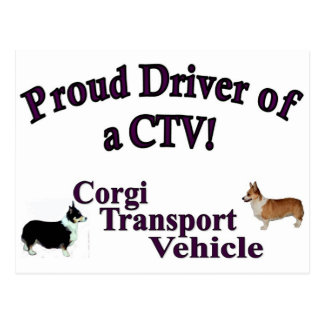 Proud Driver of a CTV Postcard