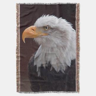 Proud Eagle Throw Blanket