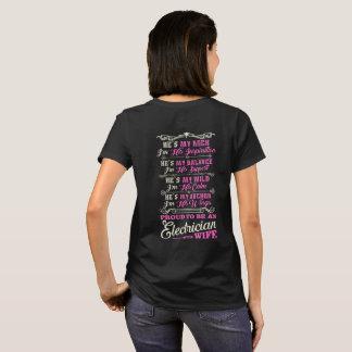 Proud Electrician Wife T-Shirt