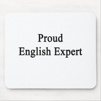 Proud English Expert Mouse Pads