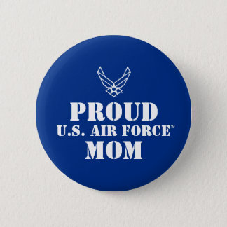 Proud Family - Logo & Star on Blue 2 Inch Round Button