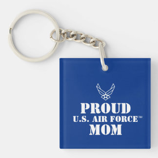 Proud Family - Logo & Star on Blue Keychain