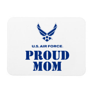 Proud Family – Small Air Force Logo & Name Magnet
