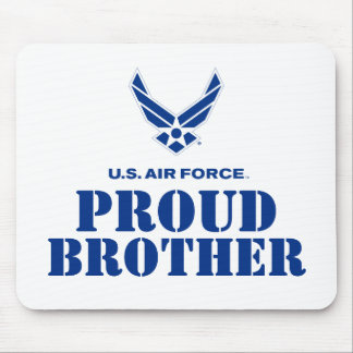 Proud Family – Small Air Force Logo & Name Mousepads