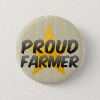 Proud Farmer 2 Inch Round Button