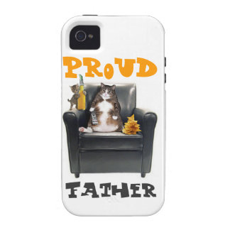 """""""Proud Father"""" iPhone 4/4S Vibe Case Case-Mate iPhone 4 Covers"""