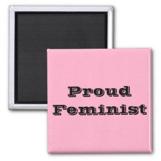 Proud Feminist Magnet