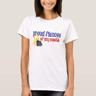 Proud Fiancee of my Coastie T-Shirt