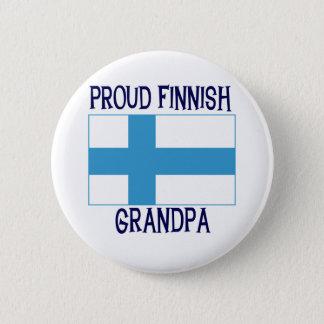 Proud Finnish Grandpa 2 Inch Round Button