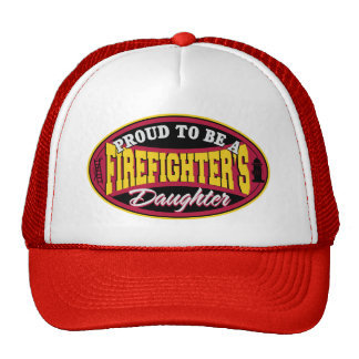 Proud Firefighter Daughter Trucker Hat