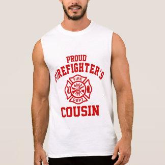 Proud Firefighter's Cousin Sleeveless Shirt