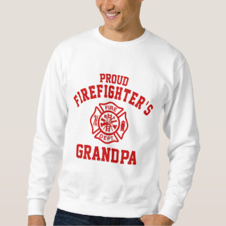 Proud Firefighter's Grandpa Sweatshirt