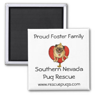 Proud Foster Family Magnet, Southern NevadaPug ... Magnet
