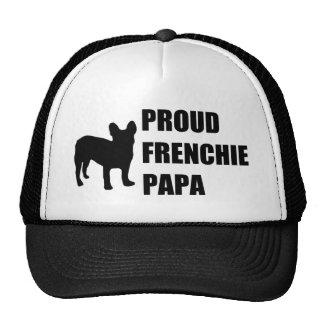 Proud Frenchie Papa Trucker Hat