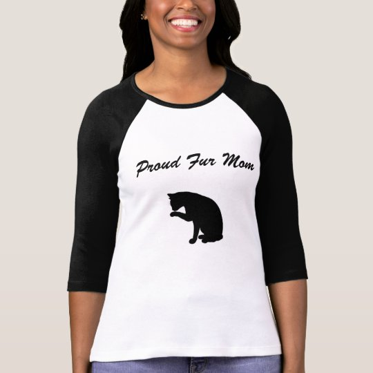Proud Fur Mom T-Shirt