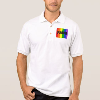 Proud Gay Rainbow Emblem Shirt
