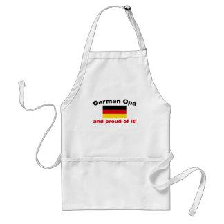 Proud German Opa Standard Apron