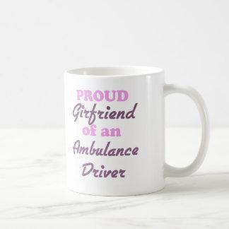 Proud Girlfriend of an Ambulance Driver Coffee Mugs