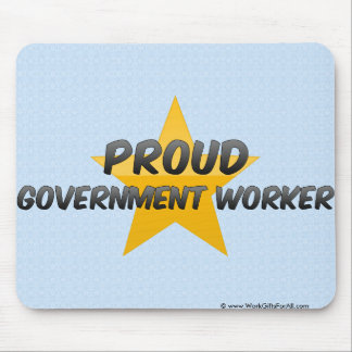 Proud Government Worker Mouse Pad