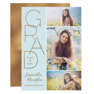 Proud Grad | Graduation Announcement | Light